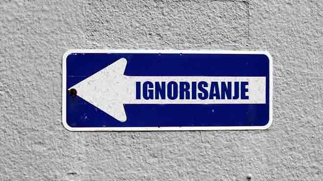 ignorisanje