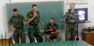 vojska - zajebancija