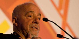 """Paulo Coelho nrkbeta"" by nrkbeta - Paulo Coelho. Licensed under CC BY-SA 2.0 via Wikimedia Commons - http://commons.wikimedia.org/wiki/File:Paulo_Coelho_nrkbeta.jpg#/media/File:Paulo_Coelho_nrkbeta.jpg"
