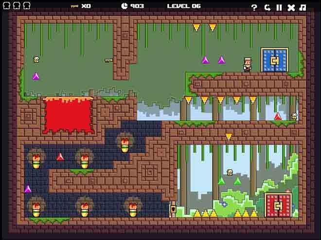 pixel quest - igrica