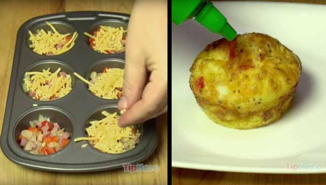 Omlet mafini