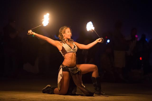 žena vatra