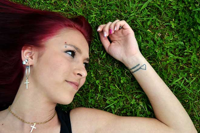 Tetovirane devojke su seksi