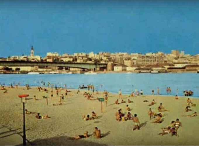 Nekada je ceo Beograd ovde išao na kupanje: Plaža