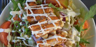 Cezar salata, salata, piletina, recept, foto pixabay