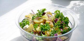 Posna salata od krompira i krastavaca, krastavac, salata, krompir, recept, jelo, posno, pixabay