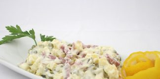 salata, susam, salata sa susamom, sir, šunka, recept, predjelo, pixaBAY