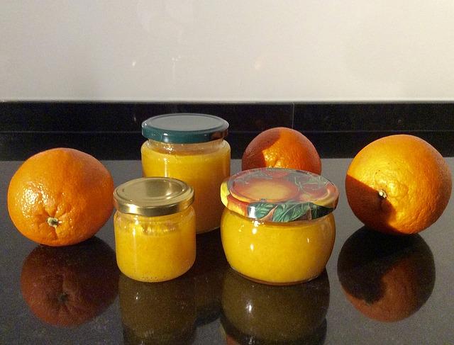 džem, pomorandža, džem od pomorandže, pixabay