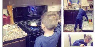 """SAMOHRANU MAJKU OPTUŽUJU DA OD SINA PRAVI SVOG ROBA: """"Učim sina kućnim poslovima, jer kuvanje i pranje nije samo za žene"""""""