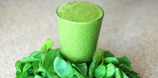 zeleni smuti, smuti, napitak, recept, kruška, limeta, celer, spanać pixabay