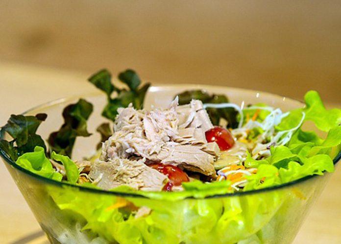 salata od tunjevine, tunjevina, kupus, salata, pixabay