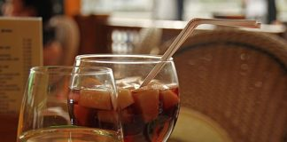 sangrija, voće, vino, piće, recept, pixabay