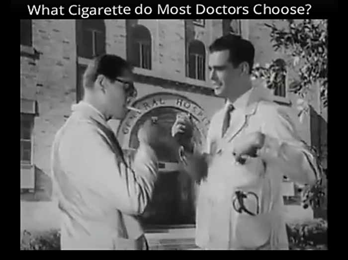 KOJE CIGARETE PUŠE DOKTORI: Neverovatne reklame u kojima su kokain, duvan i alkohol zdravi čak i za decu