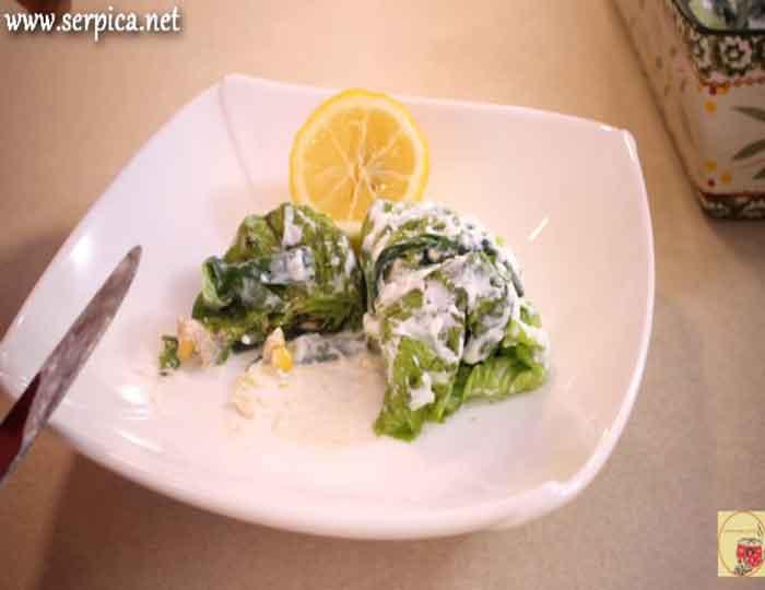 Recept za sarmice od zelene salate