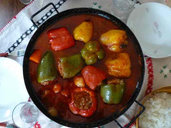 10 recepata za jela od paprike