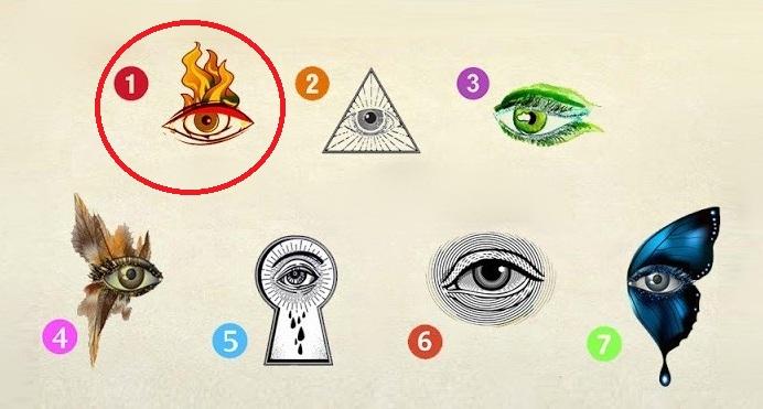 Izaberite oko koje prvo primetite i otkrijte kakva se sudbina iza vašeg izbora krije