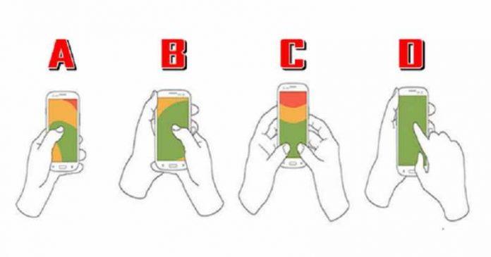 Test ličnosti: Način na koji držiš mobilni telefon otkriva tvoj pravi karakter
