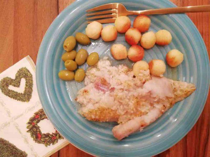 Posna riba i pirinač